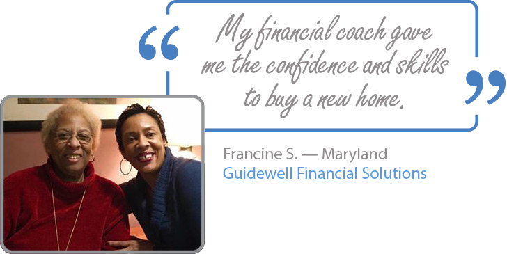 My financial coach gave me the confidence and skills to buy a new home