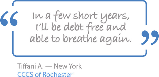 In a few short years, I'll be debt free and able to breath again